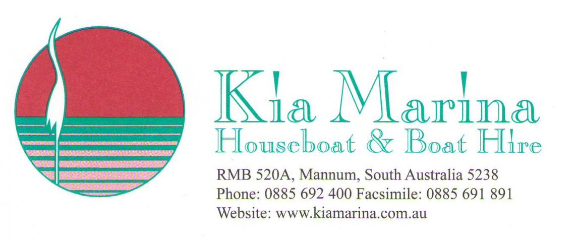 Kia Marina Houseboat Hire (Fleet)