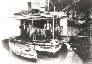 PS Mayflower in 1900