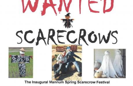 Scarecrows In Spring