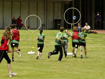 Quidditch match a must at Game Obsession Expo