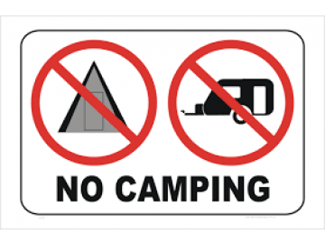 No camping on public land in SA during COVID-19 crisis