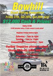 Media Release - $12000 prize pool for new look Kayak Fishing competition at Bowhill